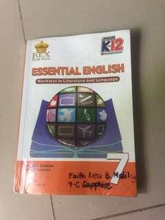 Grade 7 book essential english