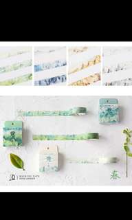 season washi tapes
