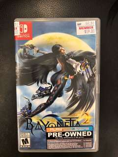 Nintendo Switch Bayonetta 2 ( Used )