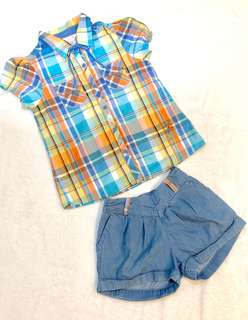 HELLO KITTY Blouse/Shirt & Shorts