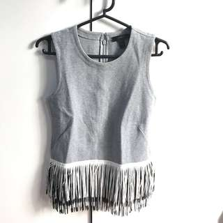 J. Crew Sleeveless Grey Top (From US)