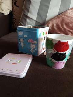 Cup with Piggy Box(Bank)