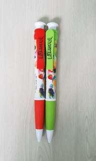 Giant Pens (black inked)