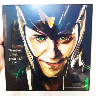 Loki Wall Poster