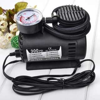 300 PSI Mini Air Compressor Electric Tire Inflator Pump
