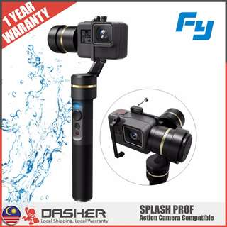 Feiyu Tech G5 3-Axis Splash-Proof Handheld Gimbal Waterproof