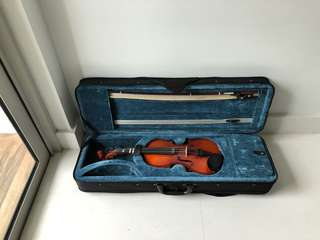 Eurostring Heritage 1/4 Size Violin With Case