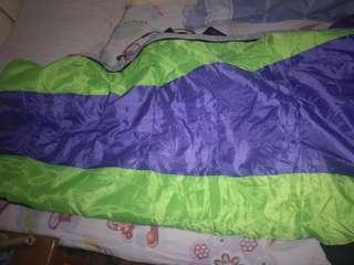 Sleeping Bag (Violet w/green interior)