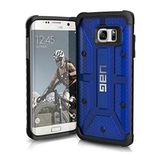 UAG Samsung Galaxy S7 Edge [5.5-inch screen] Feather-Light Composite [COBALT] Military Drop Tested Phone Case