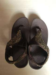 Original Fitflop brown size 5 brand new