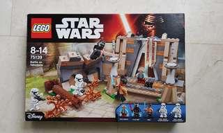 Stars wars Lego battle on takodana
