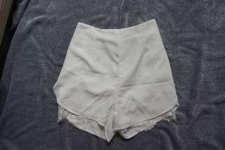 Lookboutiquestore Lace Shorts