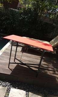 Grosir  100x50 meja lipat sebagai guna