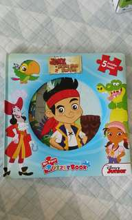 Jake the neverland pirate puzzle n book 2 different sets