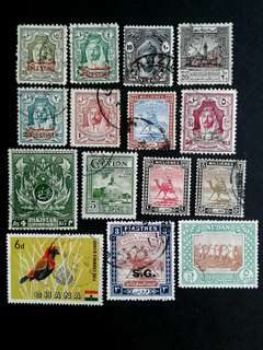 British colonies stamps#19