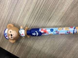 迪士尼 達菲熊原子筆