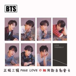 BTS LOVE YOURSELF TEAR UNOFFICIAL PHOTOCARDS (O VER.)