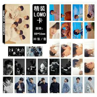 BTS Fake Love Lomo Card set