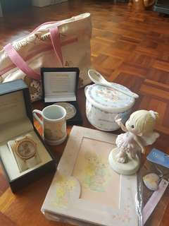 Precious moments items