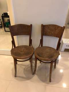 Vintage Kopitiam Chairs