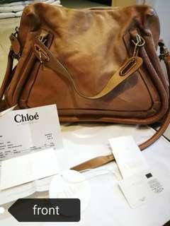 Chloe Large Paraty bag - Elephant