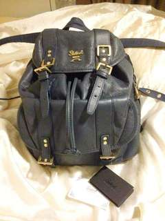 Salad backpack leather 95% new