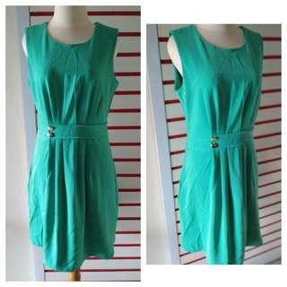 Dress Green Wanita
