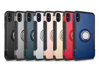 直吸車載支架盔甲手機殼 iPhone Case samsung iPhoneX iPhone 5 6s 7 8 plus s8 s9 note8 huawei P20 s7 honor mate10