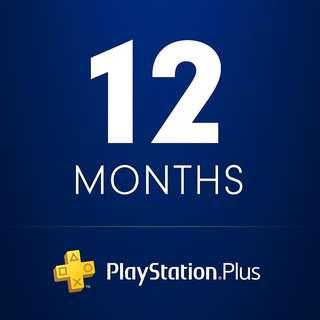 Playstation Plus - 12 Months (US)