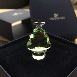 Swarovski 施華洛世奇 聖誕樹水晶擺設