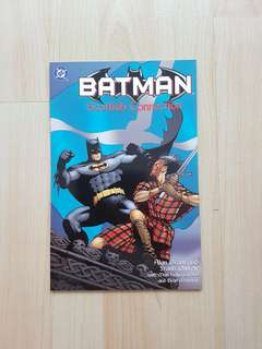 DC Comics Batman Scottish Connection One Shot Prestige Format Near Mint Condition Frank Quietly Art