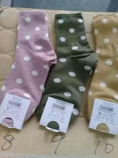 韓國製女生襪子