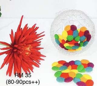 Rainbow cookies 80-90++ pcs