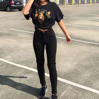 Fashionnova black skinny jeans