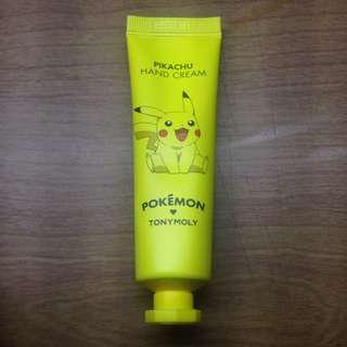 tony moly pikachu hand cream