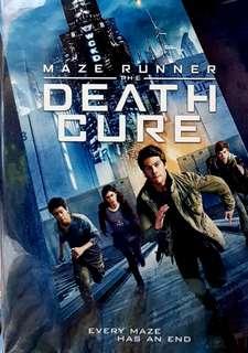 MAZE RUNNER 3 : THE DEATH CURE DVD