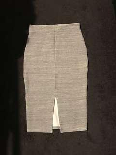 Forever new grey skirt size 4 BNWT