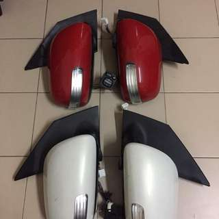 Side miror autoflip passo boon 07 siap switch