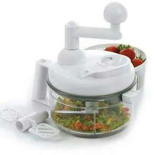 Blender manual otomatis pencincang pemotong sayur buah