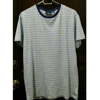 Polo by Ralph Lauren Men's T-Shirt -M- Blue & white stripes