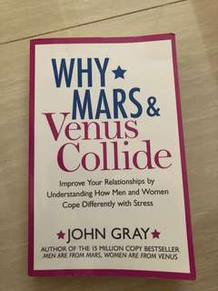 Couple advise - why mars & Venus collide