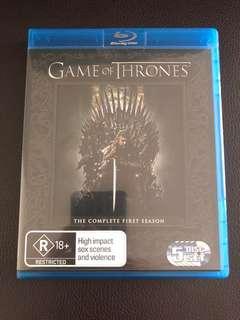 Game of Thrones Season 1 Blu-ray (5 Disc Set)