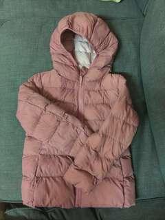 Girl Uniqlo Light Warm Padded Parka Jacket