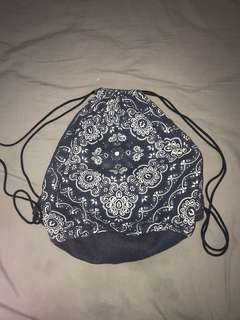 DENIM PAISLEY BRING BACKPACK