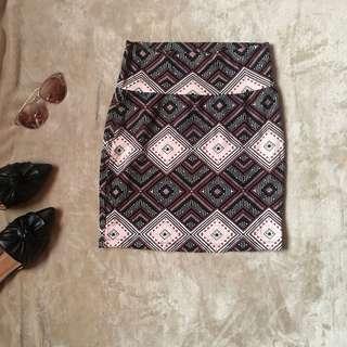 Aztec bandage skirt ✨