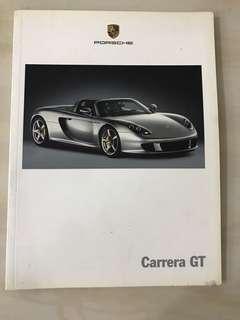 Porsche Carrera gt brochure