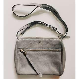 *BNWOT* AUTHENTIC Kate Spade Grey Sling Bag
