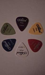 Alice Guitar Picks (6 pcs.)
