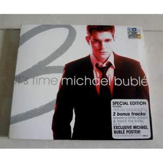 Michael Buble CD It's Time