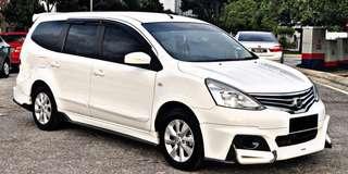 SAMBUNG BAYAR /CONTINUE LOAN NISSAN GRAND LIVINA 1.6 AUTO PATROL